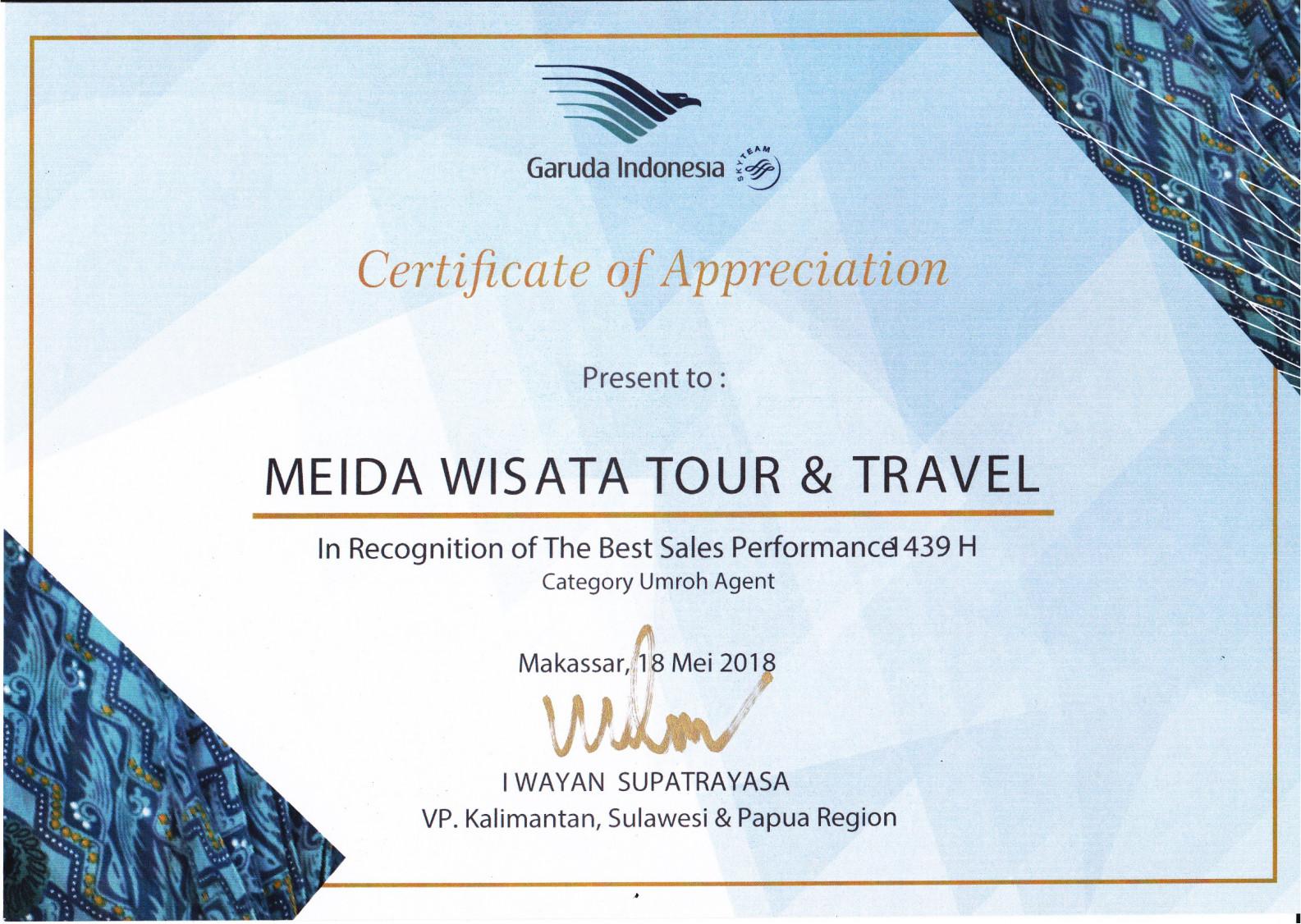 Reward Garuda Indonesia